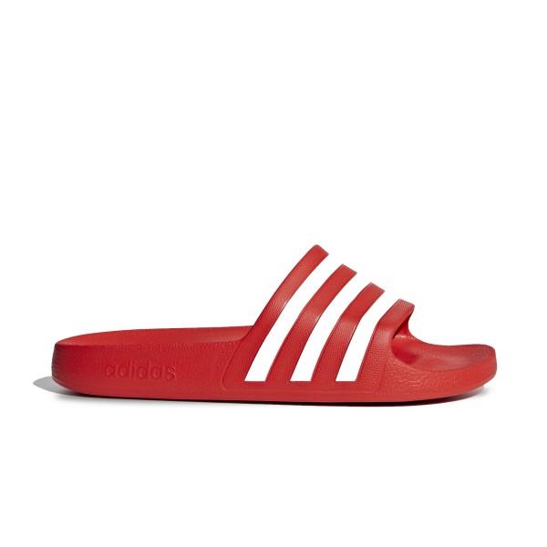 Adidas Adilette Aqua 10 Red - White