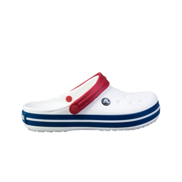 Crocs Corcband Λευκο - Κοκκινο - Μπλε