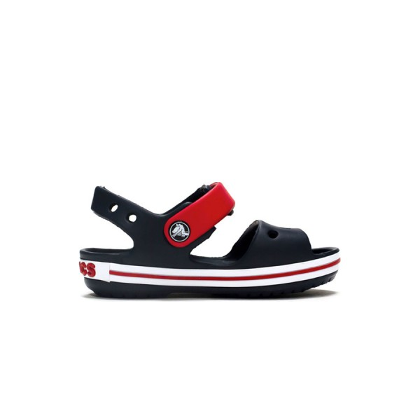 Crocs Crocband Sandal  Navy Blue - Red