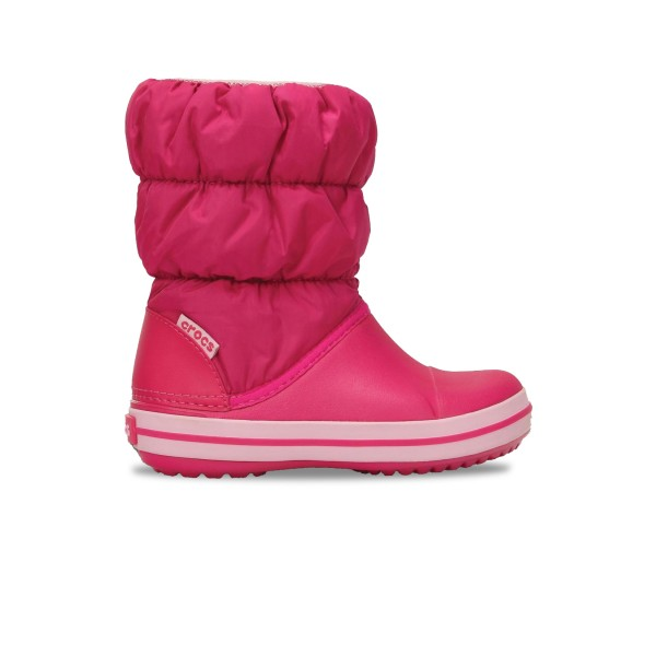 Crocs Winter Puff Boot Kids Pink
