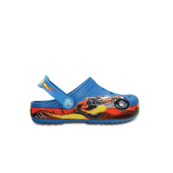 Crocs Clog Monster Truck Blue