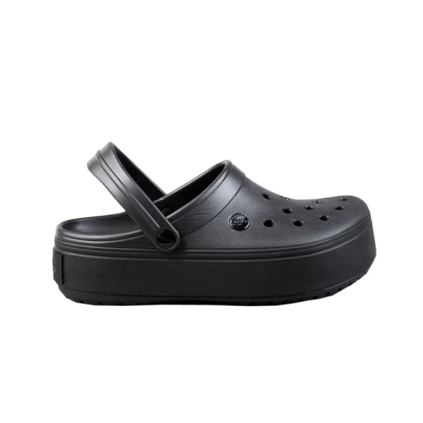 Crocs Crocband Platform Clogs Black