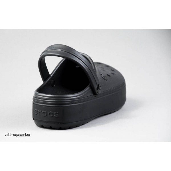 Crocs Crocband Platform Clogs Black
