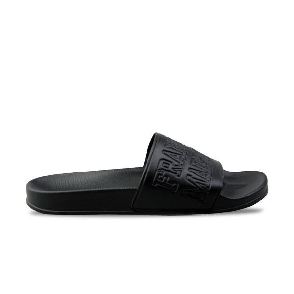 Franklin Marshall Slipper Pool Black