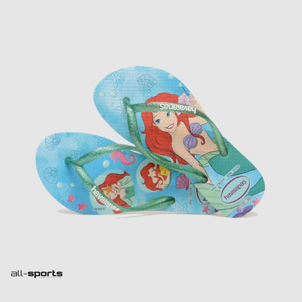 Havaianas Sandals Disney Ariel Blue