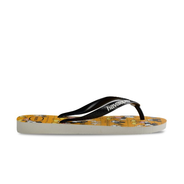 Havaianas Disney Mickey Flip Flops Yellow