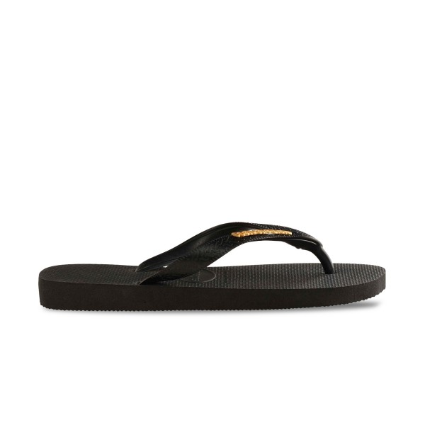 Havaianas Slim Metallic Black - Gold