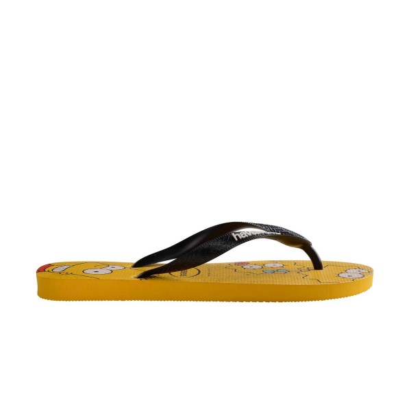 Havaianas Simpsons  Flip Flops Yellow