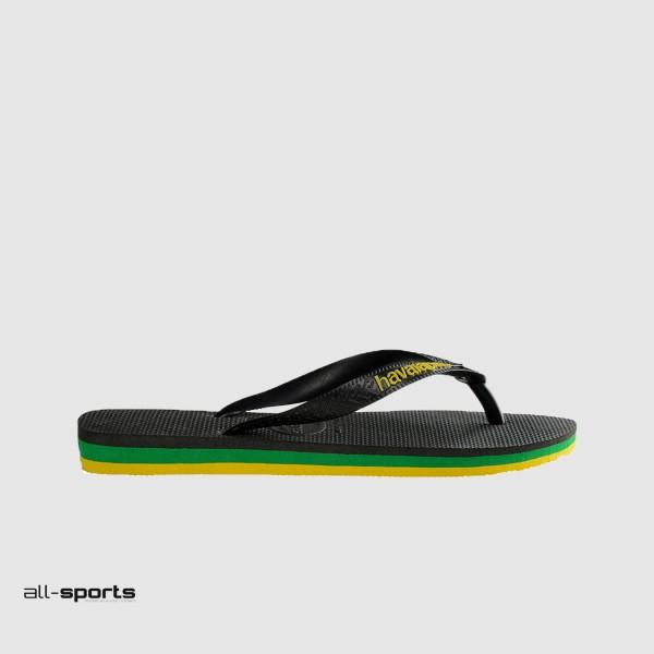 Havaianas Brasil Layers Black