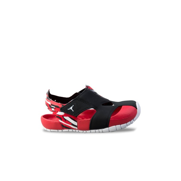Jordan Flare  TD Sandal  Black University Red