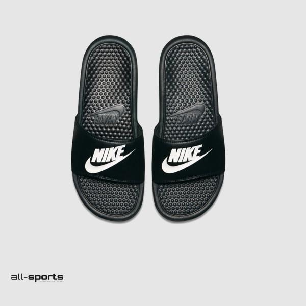Nike Bennasi JDI Black - White