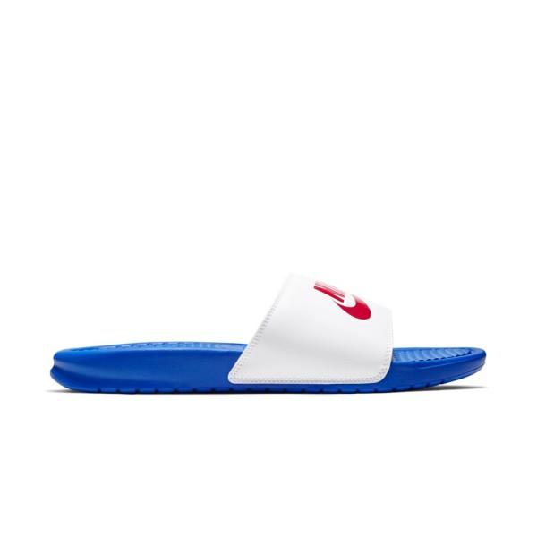 Nike Bennasi JDI Blue - White