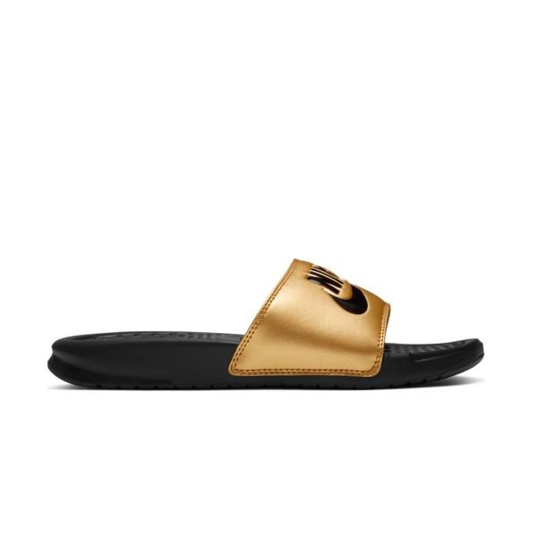 Nike Benassi Just Do It Black - Gold