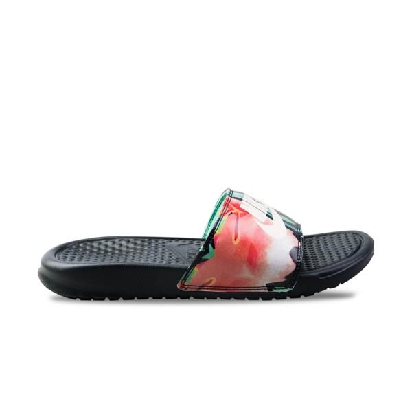 Nike Bennasi JDI Black - Floral