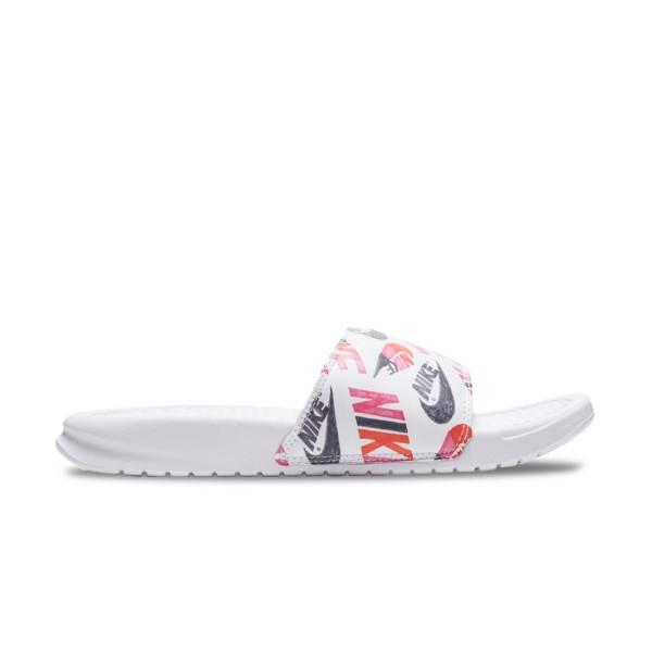 Nike Bennasi JDI Logos White