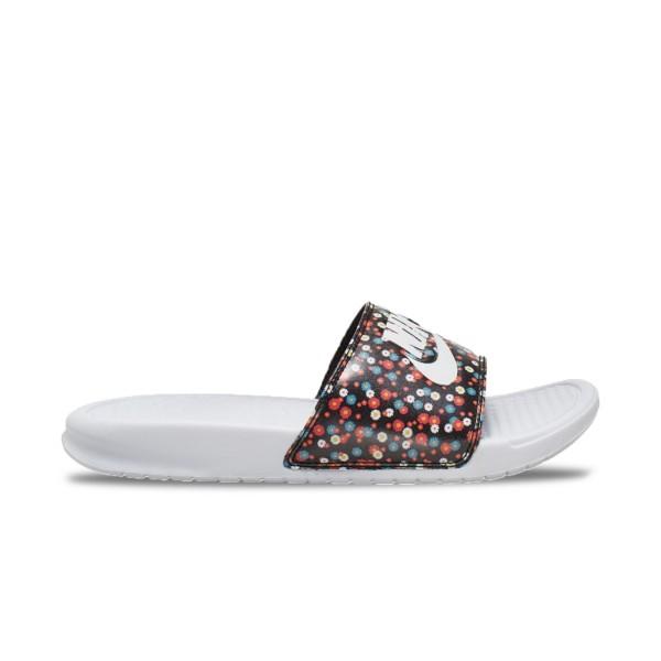 Nike Bennasi JDI White - Floral