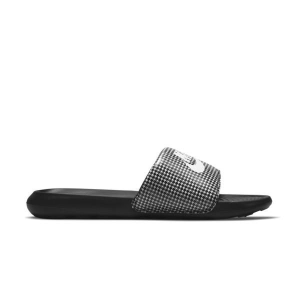 Nike Victori One Ανδρικη Παντοφλα Μαυρο - Γκρι