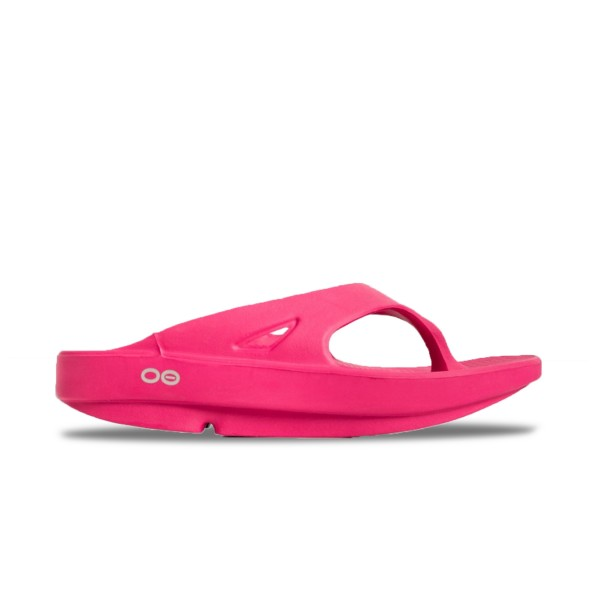 Oofos Ooriginal Recovery Sandal Fuchsia