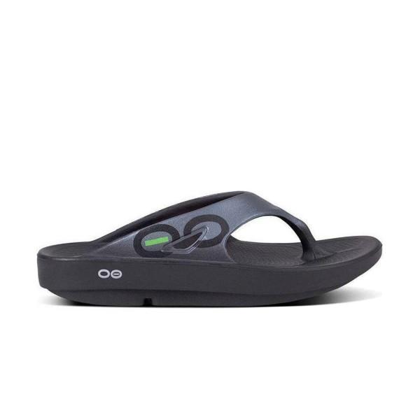 Oofos Ooriginal  Sport Sandal Black - Graphite
