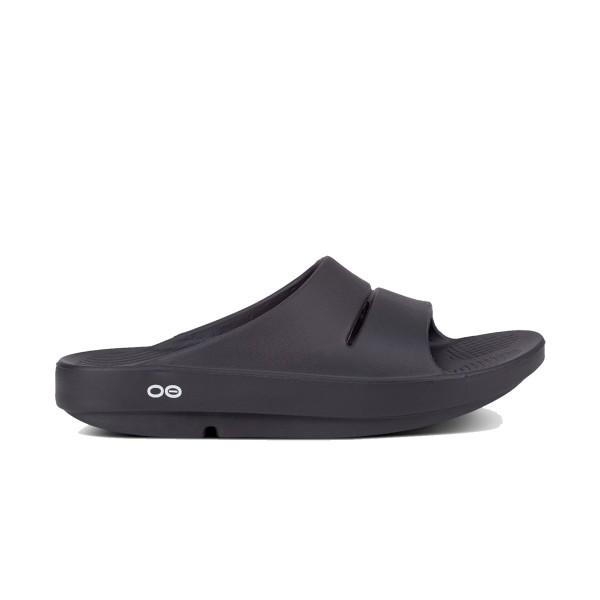 Oofos Ooriginal Recovery Sandal Black