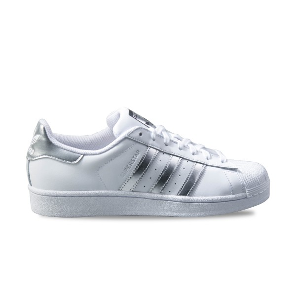 Adidas Original Superstar White - Silver