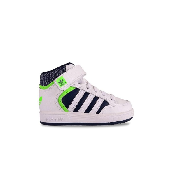 Adidas Original Varial Mid White - Green