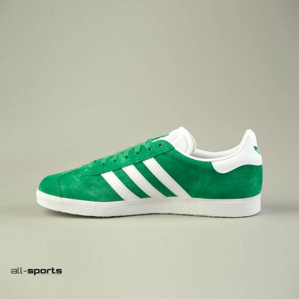 Adidas Original Gazelle Green - White