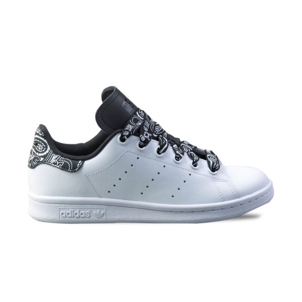 Adidas Originals Stan Smith White - Black Tribal