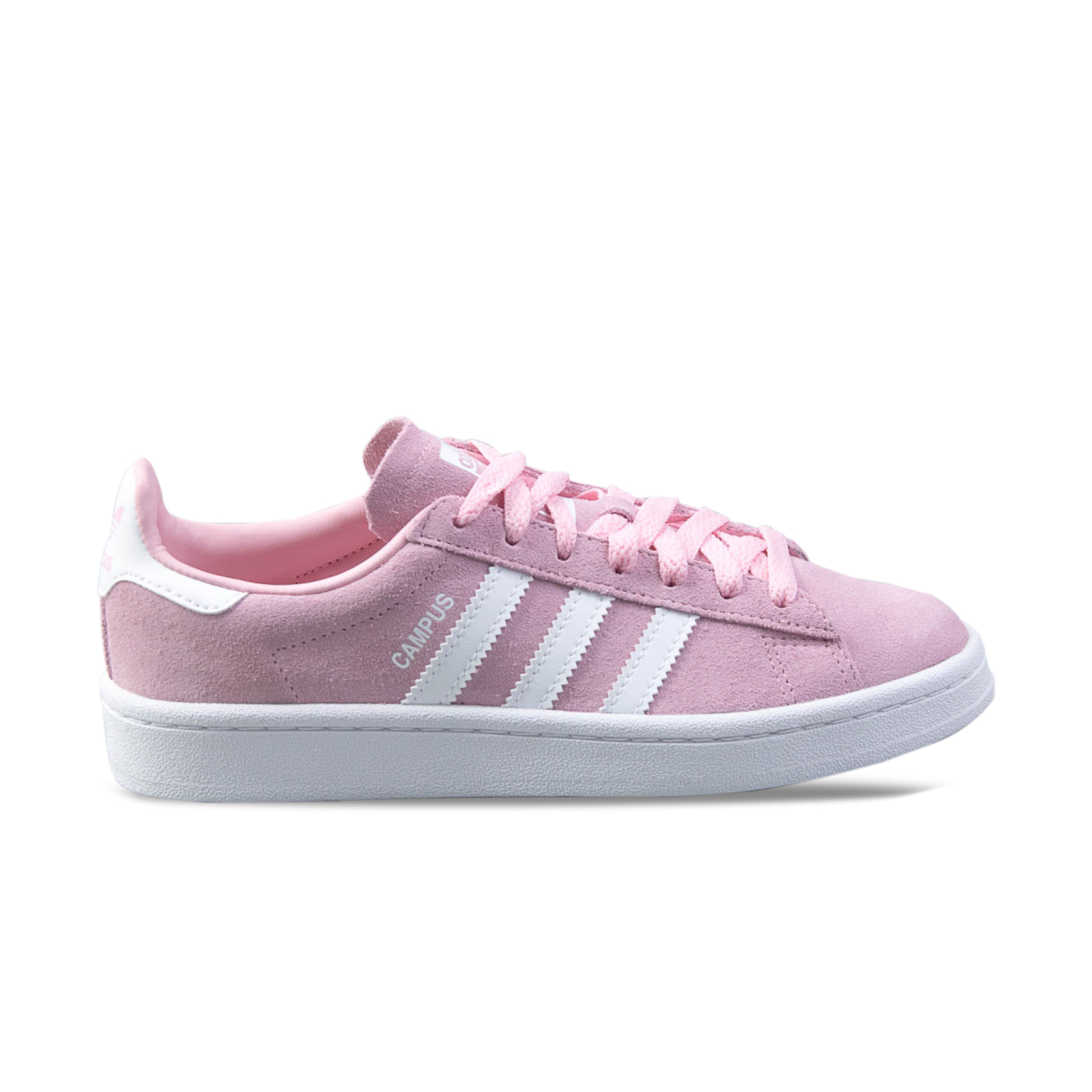 Adidas Originals Campus Pink - White