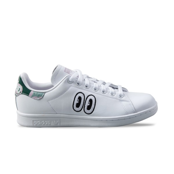 Adidas Original Stan Smith Hattie White - Green