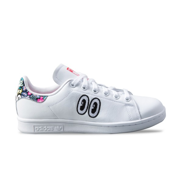 Adidas Original Stan Smith Hattie White - Multicolor