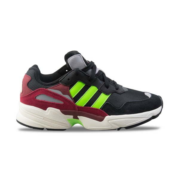 Adidas Originals Yung 96 M Black Lime Burgundy