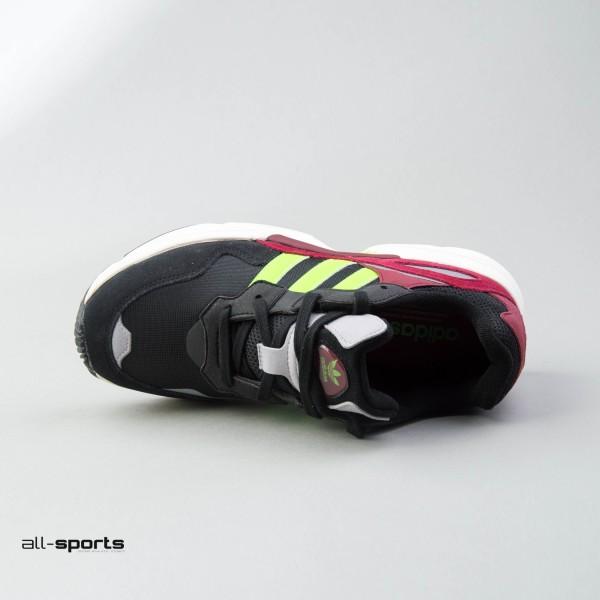 Adidas Originals Yung 96 M Black Lime Burgundy