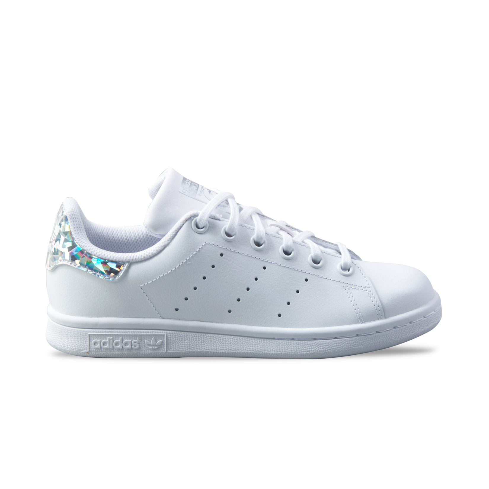 chaussures de sport 35d96 bccde Women's Shoes Adidas Originals Stan Smith J White ...