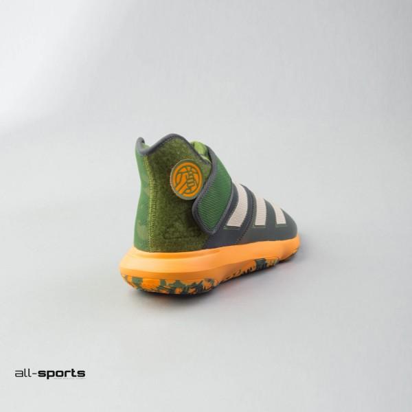 Adidas Harden B/E 3 Green - Orange