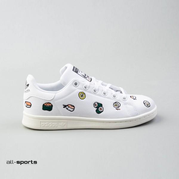 Adidas Originals Stan Smith J Sushi White