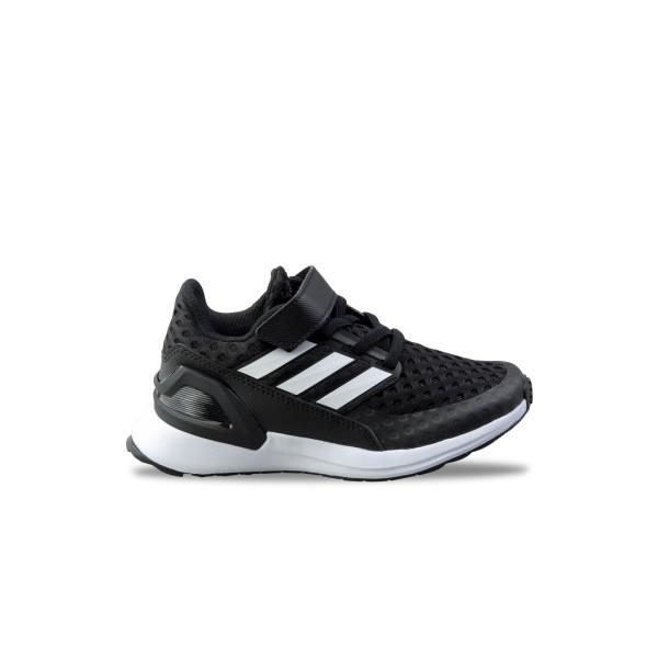 Adidas RapidaRun K Black - White