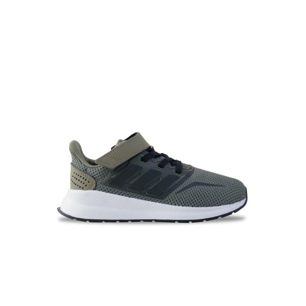 Adidas Run Falcon K Green - White