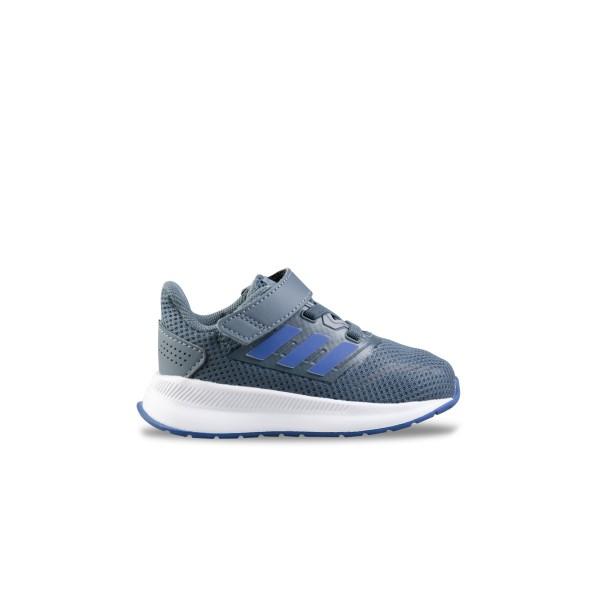 Adidas Runfalcon I Grey - Blue