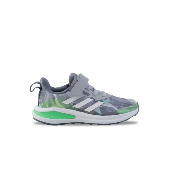 Adidas Fortarun Elastin Lace Top Γκρι - Πρασινο
