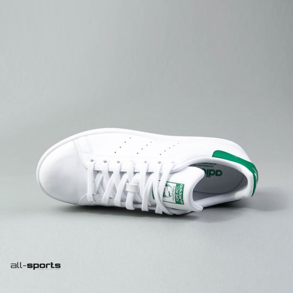 Adidas Originals Stan Smith J White - Green