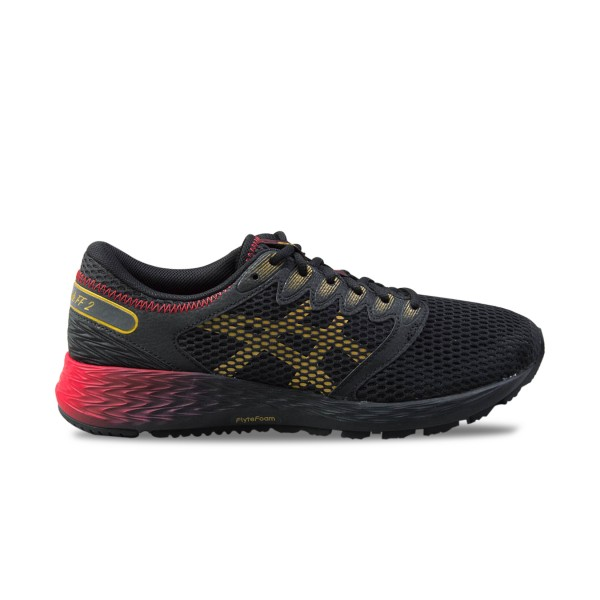 Asics Roadhawk FF 2 MX Black - Royal Red - Gold