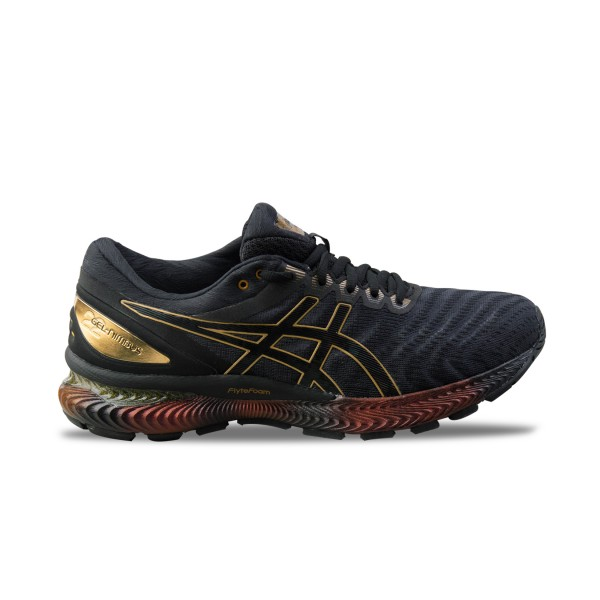Asics Gel Nimbus 22 Platinum M Black