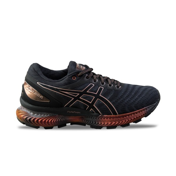 Asics Gel Nimbus 22 Platinum W Black