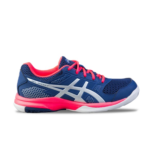 Asics Gel-Rocket 8 Blue - Pink