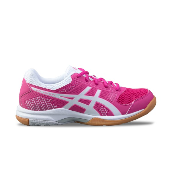Asics Gel-Rocket 8 Pink - White