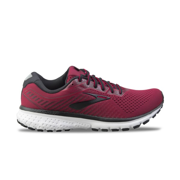 Brooks Ghost 12 Burgundy