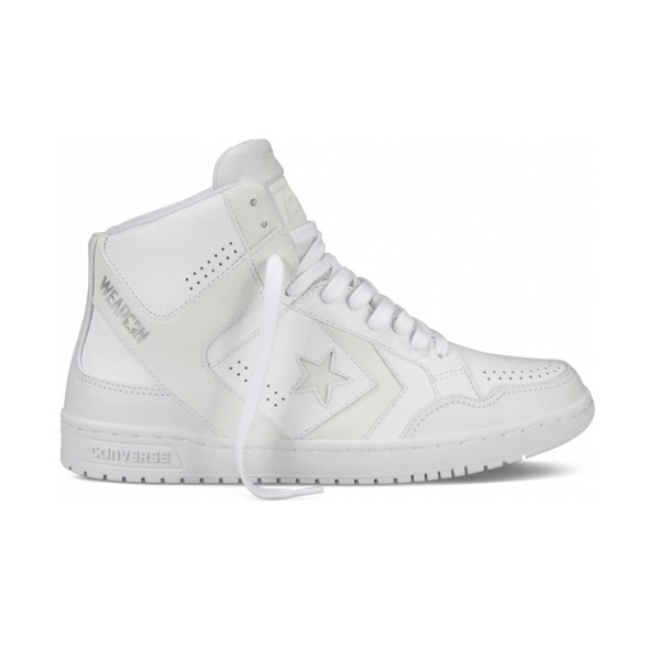 Converse Weapon '86 Leather Hi White