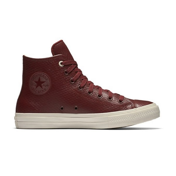 Converse Chuck Taylor All Star Hi Leather Maroon