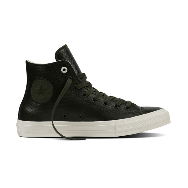 Converse Chuck Taylor All Star Hi Leather Green